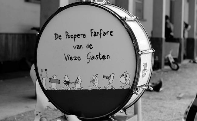 Propere Fanfare drum Lise Vanlerberghe