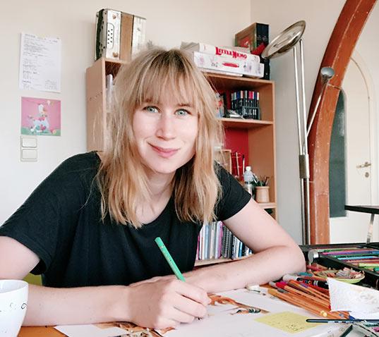 Lise Vanlerberghe cartoonist