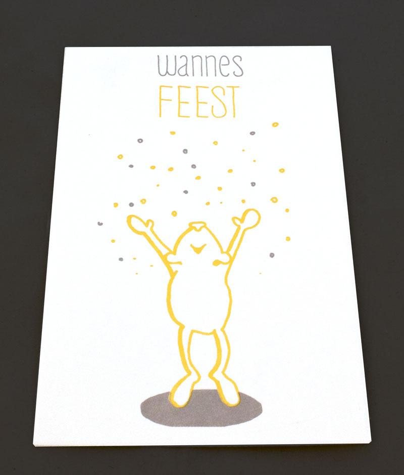 geboortekaartje Wannes Lise Vanlerberghe
