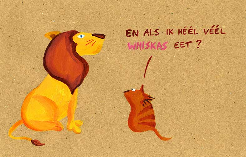 cartoons whiskas Lise Vanlerberghe