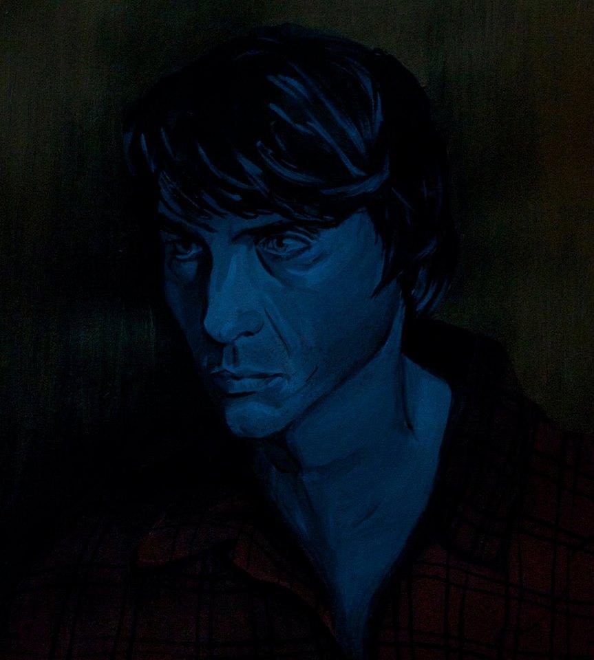 schilderij man