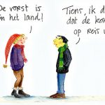 taal cartoon