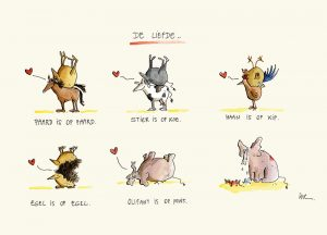 wenskaart liefde