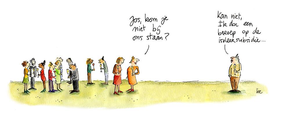 cartoon renovatie lise vanlerberghe