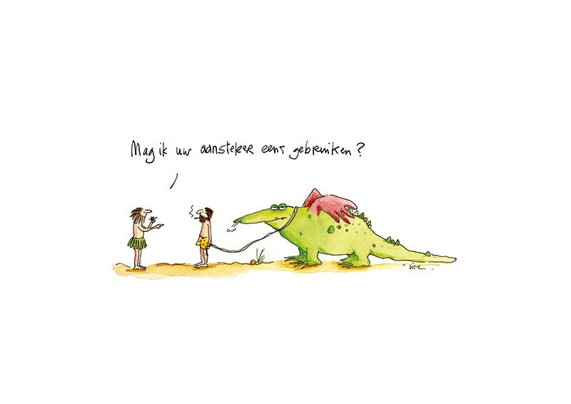 cartoon Lise Vanlerberghe
