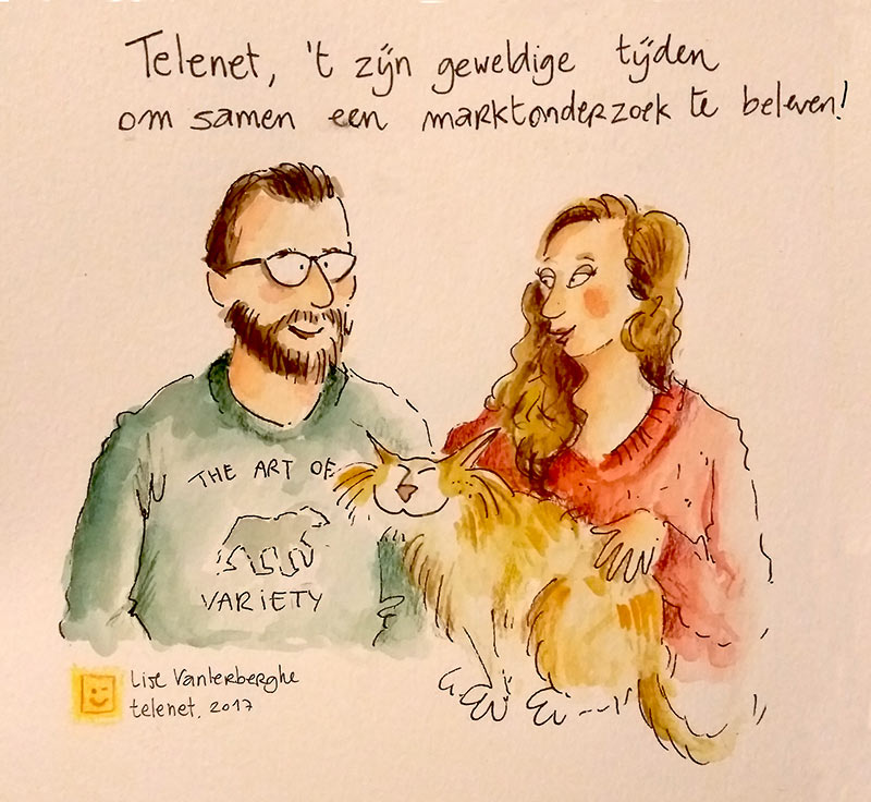 live cartoon tekenen