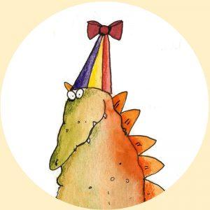 magneet dinosaurus verjaardag