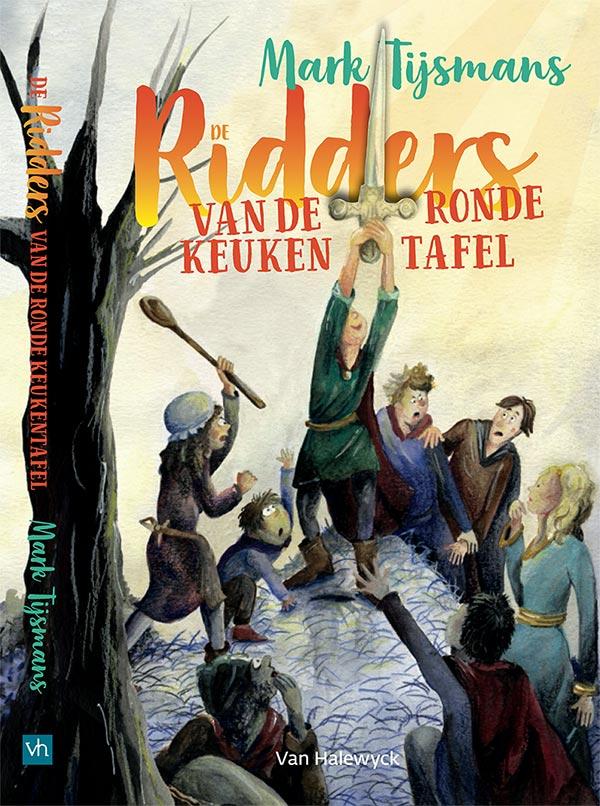 cover boek ridders van de ronde keukentafel