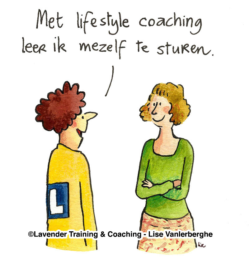 lifestyle coaching cartoon