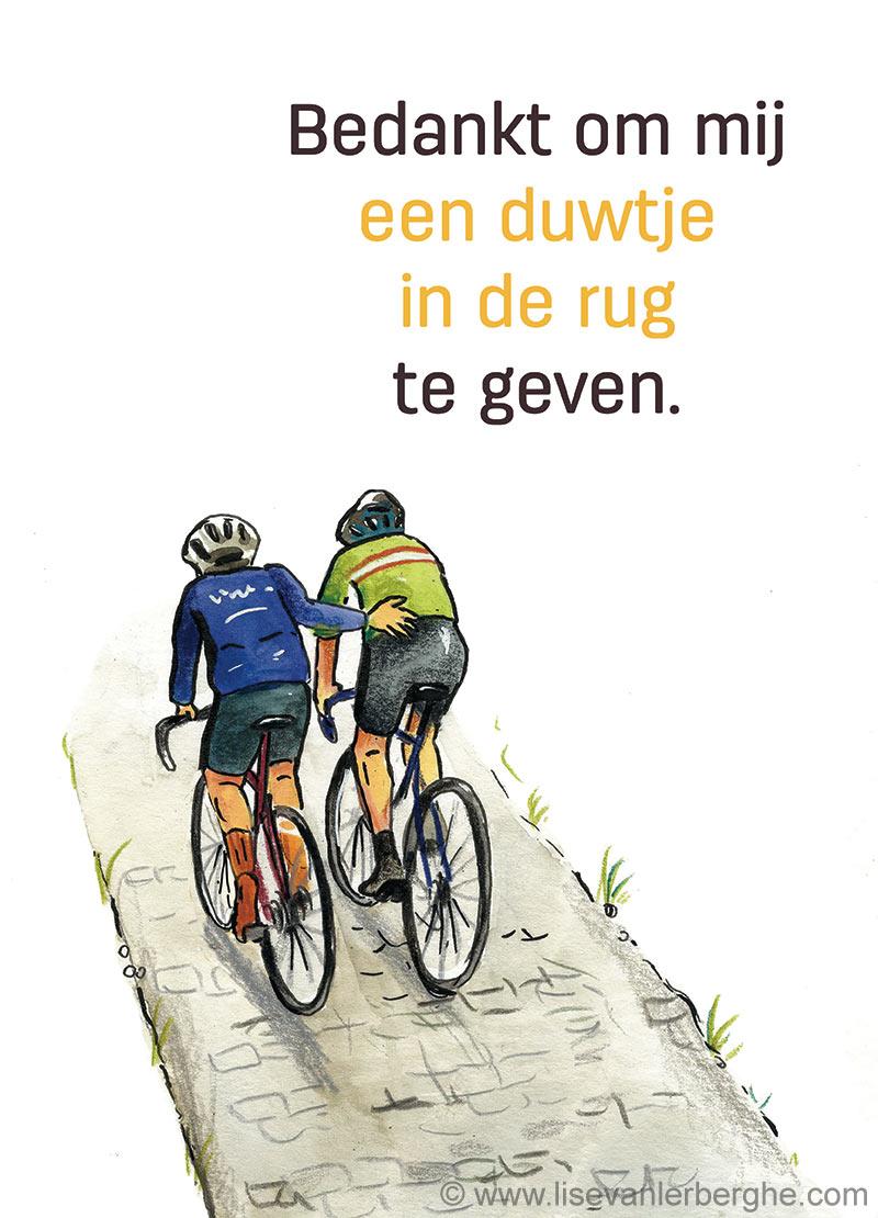 kom op tegen kanker fietstocht