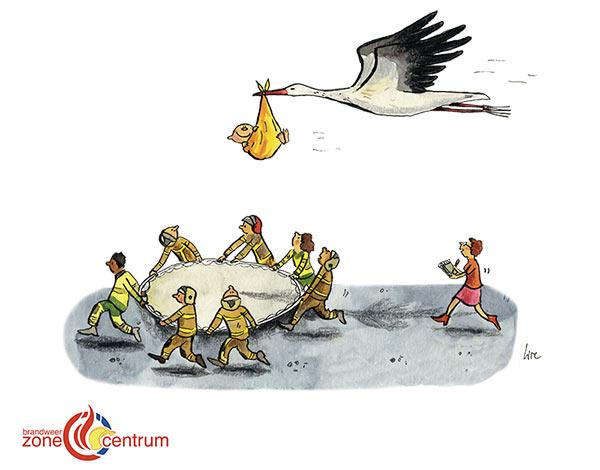 wenskaart cartoon