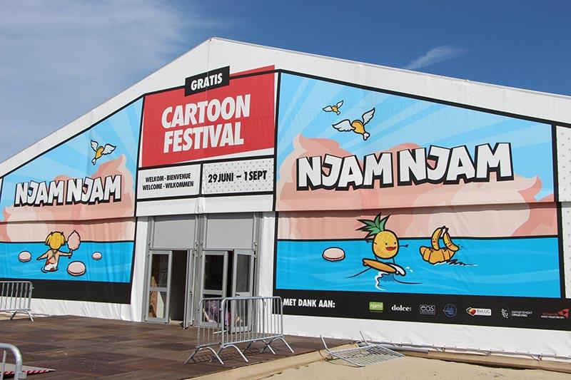 cartoonfestival knokke-heist