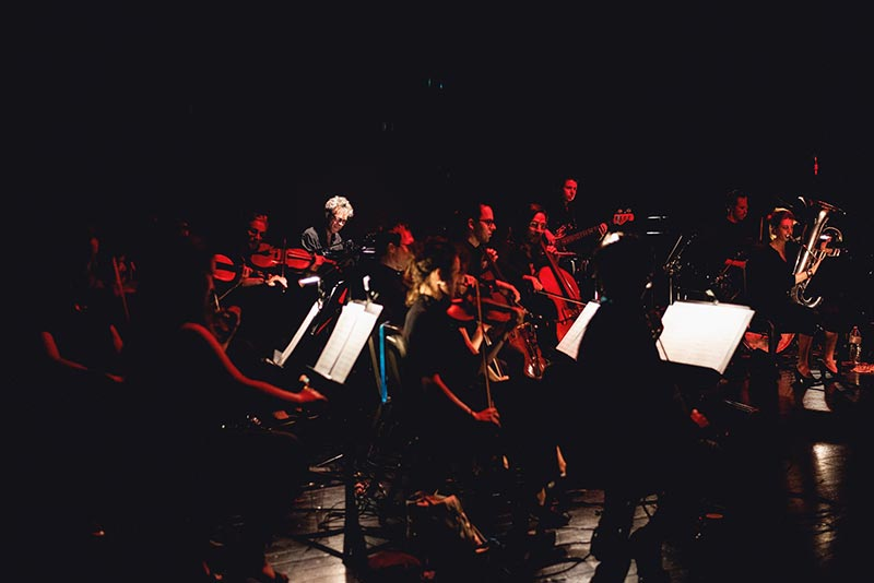 Room13orchestra in concert