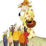 De 7 geitjes illustratie