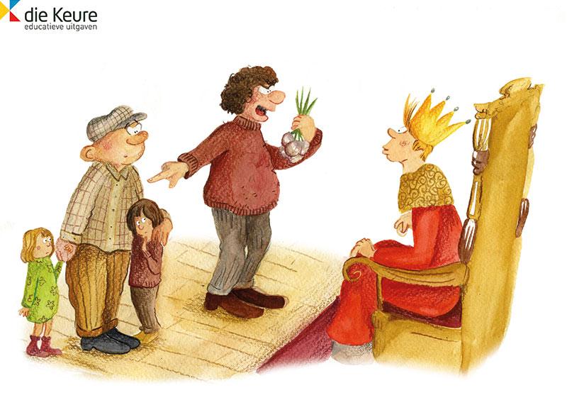 illustratie koning Arthur