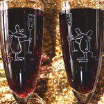 champagneglas gegraveerd