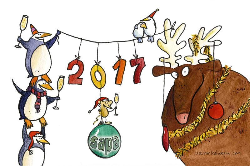 nieuwjaarskaart maken