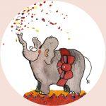 magneet olifant feest