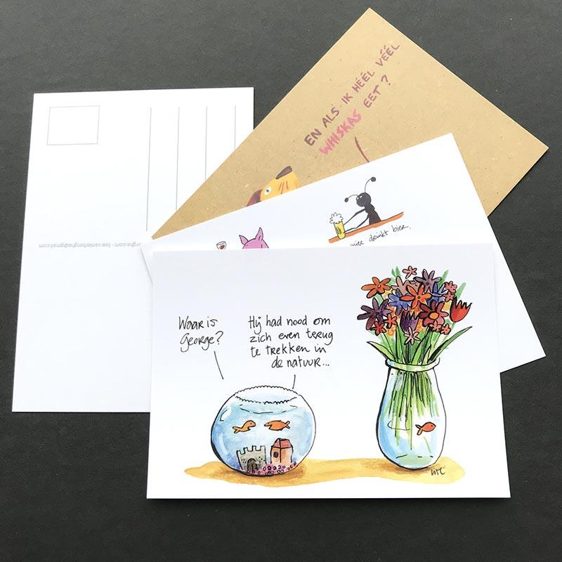 postkaarten lise vanlerberghe