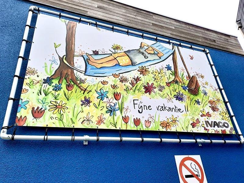 illustratie voor banner